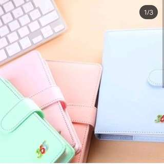 365 leather planner