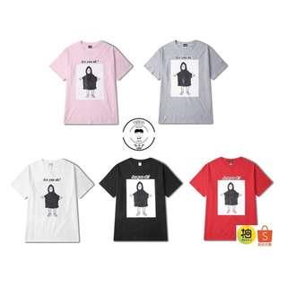 『誰合普UHF®』合作品 搞怪特色印花上衣 情侶短袖上衣 5色(網路特賣價$550)起標價=直購價