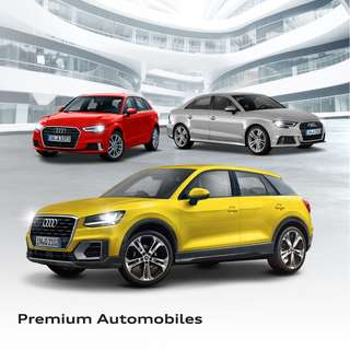 Audi A3 and Q2 promotion