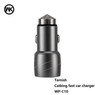 WK CAT king car charger 2USB 2.4A output