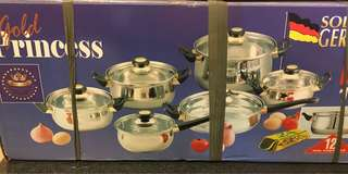 Gold princess kitchen cooking ware