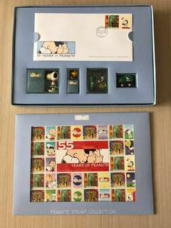 PEANUTS STAMP COLLECTION 2005 Snoopy 史努比 集郵
