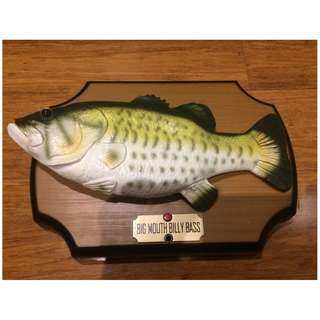 Big Mouth Billy Bass - the singing fish - Circa 1999 WORKING !