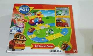 Robocar Poli - City Resecue Playset