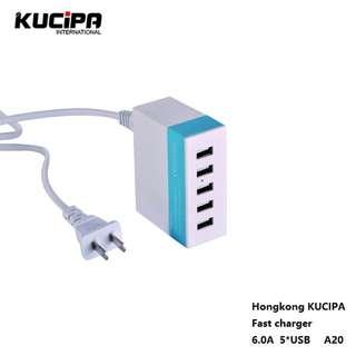 Hongkong KUCIPA 6 USBport(A20)charger