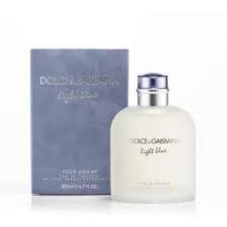 D&G perfume for men 125ml