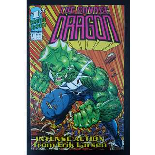 Savage Dragon #1 (1992 IMAGE) 1ST Butt-Kicking ISSUE!