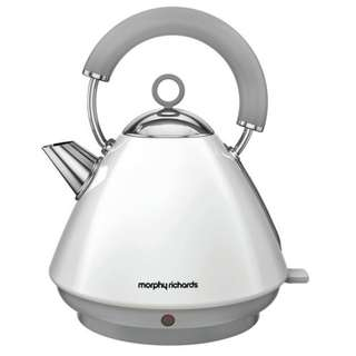 Morphy Richards Accents Traditional Kettle 102031 (White) (Brand New)