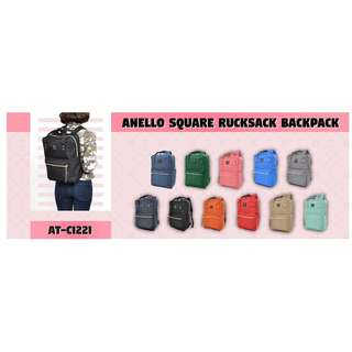 ANELLO Square Rucksack Backpack