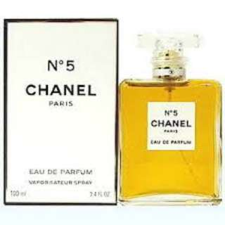 chanel n5 perfume for women 100ml