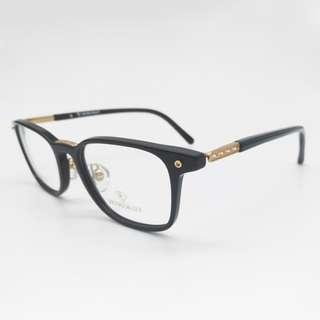 💎輕量摩登💎[檸檬眼鏡] RETROCRAFT RC 1048 BLKGLD 義大利製 光學眼鏡 細膩鈦金屬工藝-1