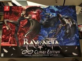 Switch Bayonetta Climax Edition 日版限定版 (不連實體遊戲)