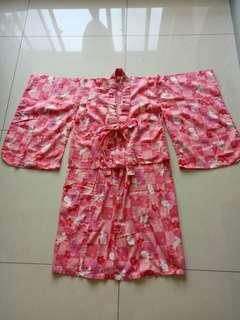 女用櫻花日本和服