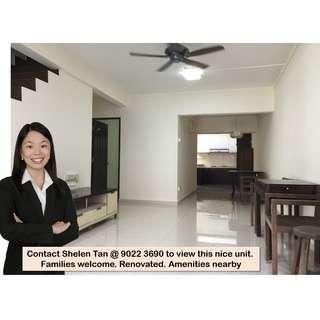 Jalan Setia, 2-Storey Terrace House @ Macpherson Garden Estate for rent