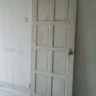 Wooden door 86*206cm
