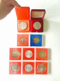 Old Commemorative Singapore Coins