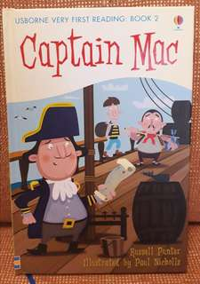 Usborne books for early readers: Captain Mac