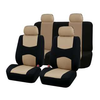 Car Seat Covers Full Set Universal Fit