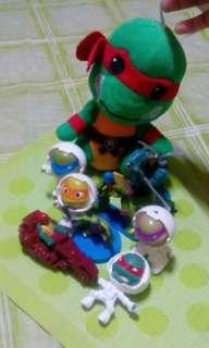 Ninja Turtles w/ Shreider