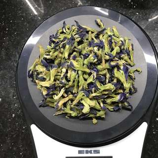 Dried Butterfly Pea Flowers( bunga telang)30g/50g/100g