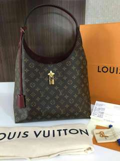 Sale jual rugi Bnib louis vuitton flower hobo with complete set rec db clochete key lock box rec dr ausie 28,5jta only nett !! Ex onkir