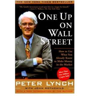 Ebook- One Up On Wall Street: How to Use What You Already Know to Make Money in the Market