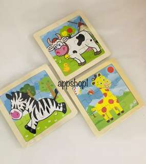 Wooden puzzle- goodies bag, door gift, goody bag packages
