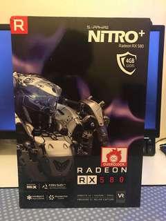 Saphire RX 580 nitro+ 4gb ddr5