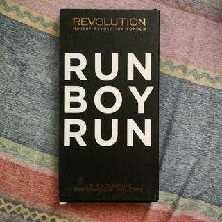 Makeup Revolution Run Boy Run eyeshadow palette