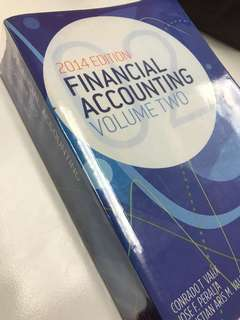 Financial Accounting Vol 2