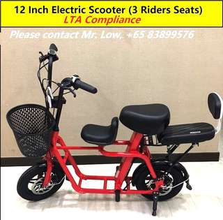 Electric Scooter (3 Seats)