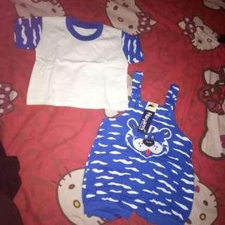 Baju/jumsuit anak dapat 2
