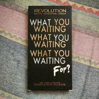 Makeup Revolution What are you waiting for eyeshadow palette