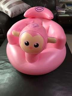 寶寶 嬰兒 充氣兒童座椅