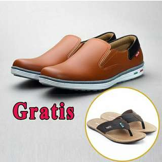 Sepatu pria free sandal sendal Jepit salvo