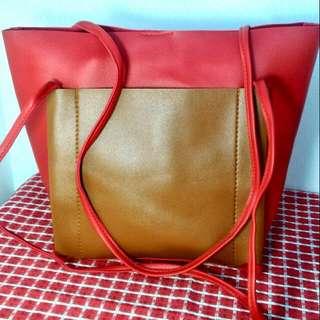 Balenciaga Inspired Pocket Tote Bag