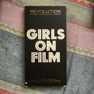 Makeup Revolution Girls on Film eyeshadow palette