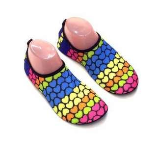 Aqua Shoes Multicolor Hearts
