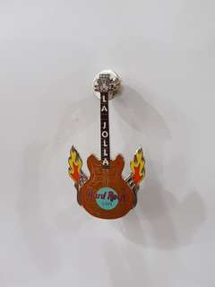La Jolla Hard Rock Cafe Guitar Pin, Collectible