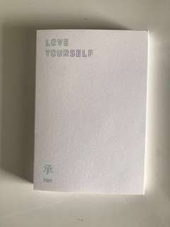 BTS Love Yourself: Her, Version E