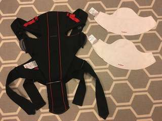 Baby Bjorn Baby Carrier & 2 piece dribble cloth