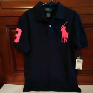 全新Polo by Ralph Lauren童裝(深藍/純棉/S/大馬)