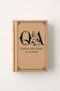 Q&A A Day, A 5-Year Journal