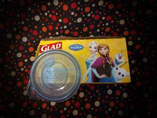Disney Frozen Glad Tupperware Container