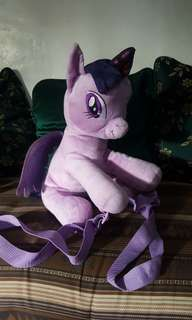 My Little Pony Plushie Backpack