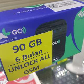 Modem XL GO Movimax MV003 free 90gb 6bulan