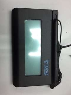Topaz Signature Pad USB 2nd hand $150 only