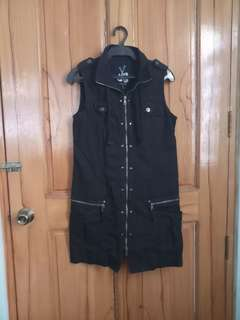 Bossini black dress, 2x used, can fit small.to medium, no flaws. Free shipping