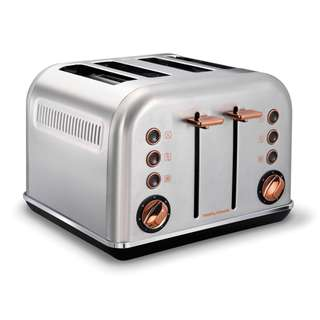 Morphy Richards 4 Slice Toaster 242105 (Rose Gold Brushed) (Brand New)