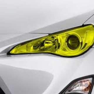 Car Headlamp Tinting
